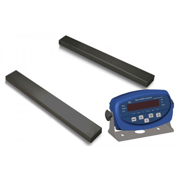 Реечные весы 4BDU600Р бюджет 140х1200 мм (на 600 кг)