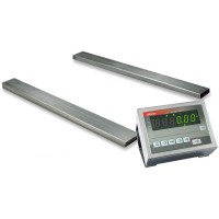 Реечные весы для склада 4BDU600Р элит 140х1200 мм (на 600 кг)