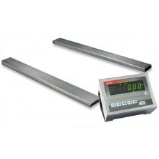 Стержневые весы для длинномерных грузов до 6000 кг 4BDU6000Р элит 140х1200 мм