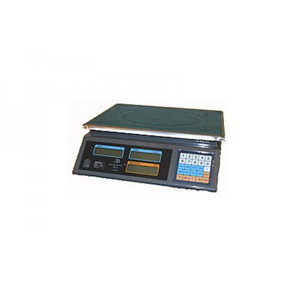 Весы торговые электронные без стойки ВТЕ-Центровес-6Т1ДВ-ТВЕ  до 6 кг; (230х285 мм)
