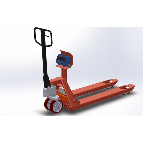 Рокла с весами 4BDU1000P-В бюджет 520x1200 мм (до 1000 кг)