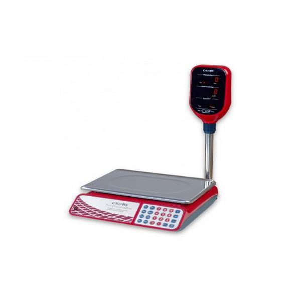 Торговые настольные весы со стойкой Camry CTE_J11B до 30 кг, точность 10 г