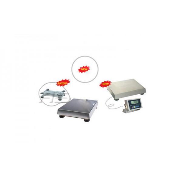 Влагозащищенные электронные весы (IP65) ВПЕ-Центровес-215НЖ до 15 кг; (295x350 мм)