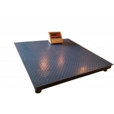 Весы платформенные ВПЕ-Центровес-1212-1 (1000 кг, 1200х1200 мм)