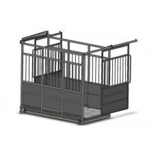 Весы с раздвижными дверьми для рогатого скота до 3000 кг 4BDU-3000X-Р, 1250х2000 мм БЮДЖЕТ
