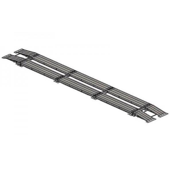 Весы автомобильные безфундаментные Axis 80-22 К (12 датчиков) до 80 тонн, практичные