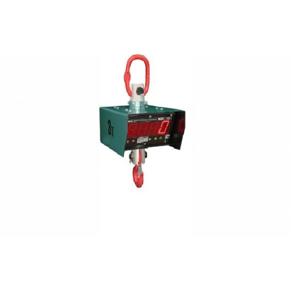 Однодиапазонные крановые весы (с радиомодулем РМ-06 (расширенные функции и выход  в ПК)) Век-3К до 3 т с точностью 1000 г (530 мм)