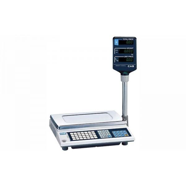 Весы торговые CAS AP-30EX до 30 кг; со стойкой