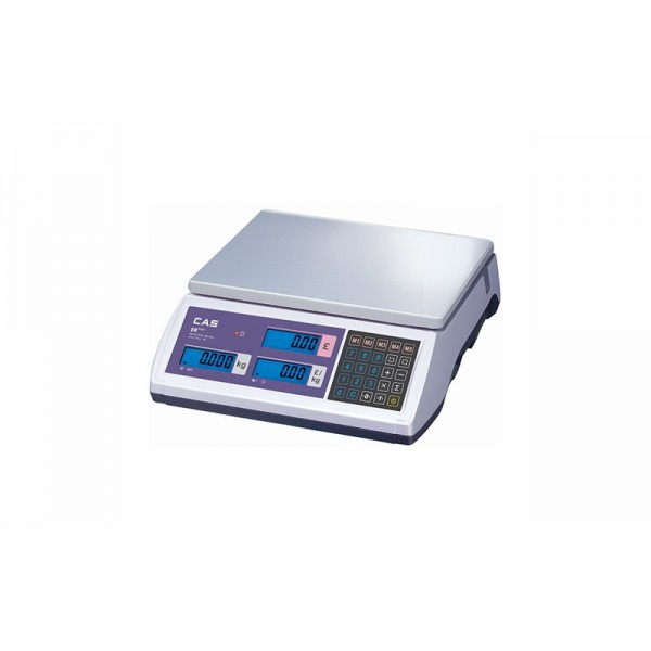Весы торговые CAS ER Plus E (RS-232) до 6 кг; без стойки