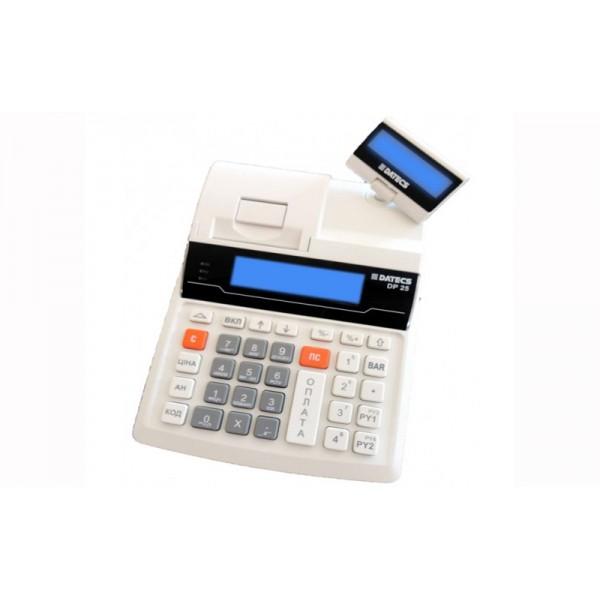 Кассовый аппарат Datecs Exellio DP-25 с КСЕФ + индикатор клиента (без GSM-модема)