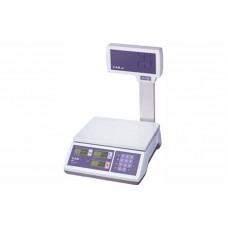 Весы торговые CAS ER JR CBU до 6 кг; со стойкой