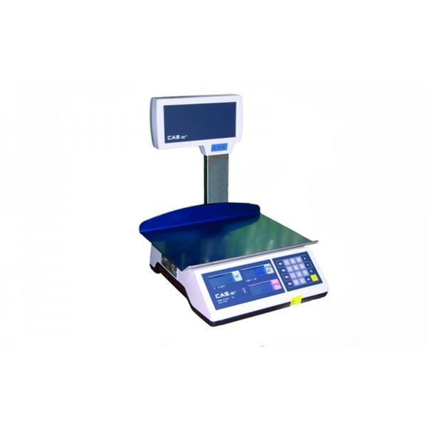 Весы торговые CAS ER JR CBU (LT) до 15 кг; со стойкой