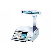 Весы торговые CAS CL5000J-IP-R до 30 кг, с печатью этикеток, со стойкой