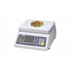Весы фасовочные CAS SW-20 до 20 кг, дискретность 10 г, платформа пластмассовая