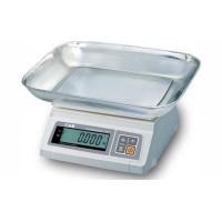 Кухонные электронные весы с платформой в виде чаши  CAS SW-2 НПВ: 2 кг; (241х192 мм)