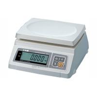 Весы фасовочные CAS SW-20D до 20 кг, платформа из пластмассы (два индикатора)
