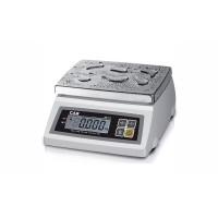 Влагозащищенные электронные настольные весы (два дисплея) SW-5WD до 5 кг с точностью до 2 г., (241х192 мм)