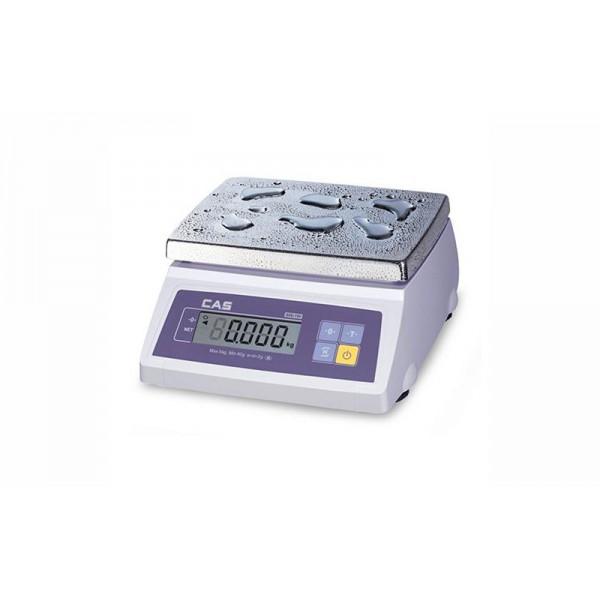 Торговые электронные весы с двумя дисплеями SW-10WD до 10 кг с точностью до 5 г., (241х192 мм), (влагозащищенные)