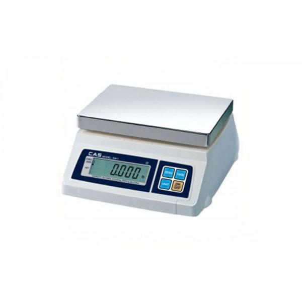 Весы фасовочные CAS SW-5C до 5 кг; платформа из нержавеющей стали (с счетным режимом)