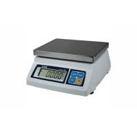 Весы фасовочные CAS SW-10C до 10 кг; платформа из нержавеющей стали (с счетным режимом)