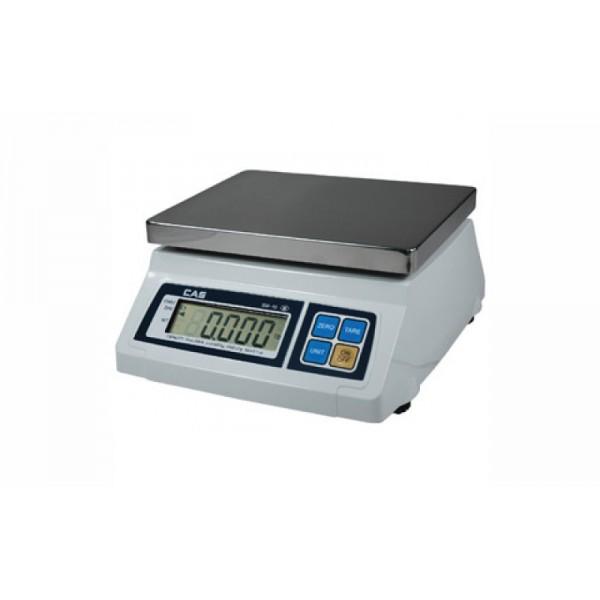 Весы фасовочные CAS SW-20C до 20 кг; платформа из нержавеющей стали (с счетным режимом)