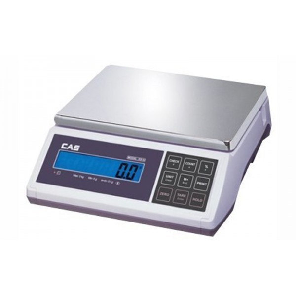 Весы фасовочные CAS ED-6 до 6 кг; дискретность 1/2 г