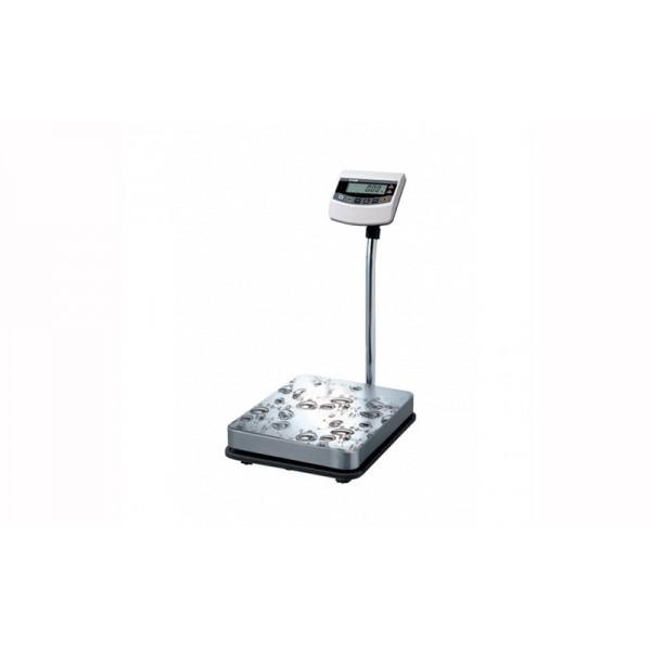 Напольные весы CAS BW-6RB до 6 кг с точностью 2 г. для взвешивания продуктов; (280х280 мм)
