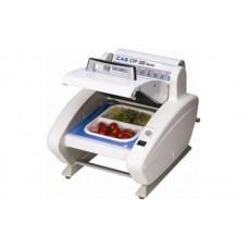 Недорогой настольный запайщик лотков для порционной фасовки CAS CTP-320(Q14) для супермаркетов; (305х350х280 мм)