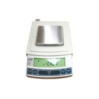 Настольные электронные лабораторные весы с платформой из нержавеющей стали CAS CUX-620H до 620 г с точностью 0,001 г