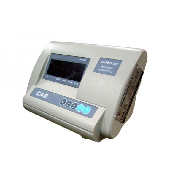 Недорогой весовой индикатор CAS CI-2001AC для платформенных весов Hercules