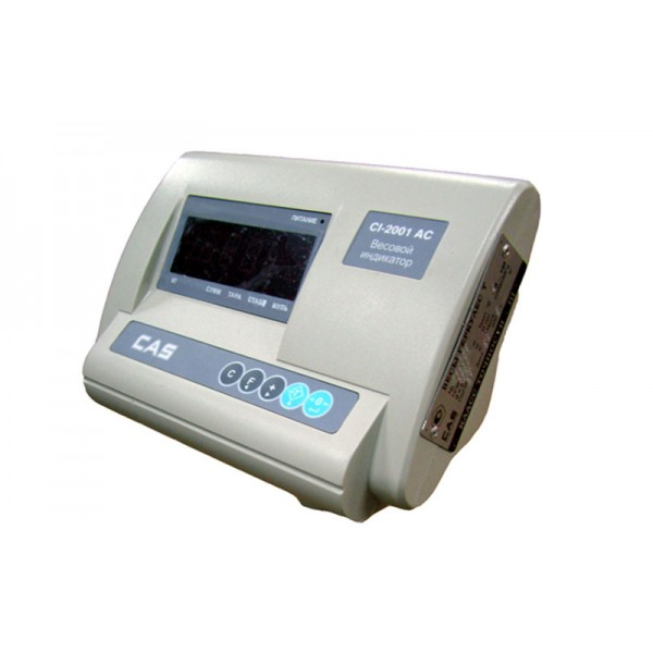 Весовой индикатор CAS CI-2001AC с интерфейсом RS-232 для платформенных весов CAS
