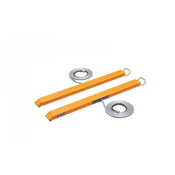 Реечные недорогие складские весы CAS BFS-2 до 2000 кг; (1200x800x90 мм)