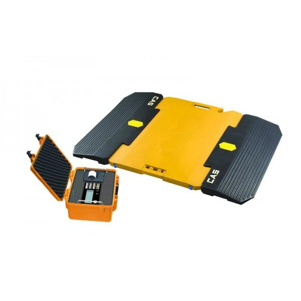 Переносные подкладные автомобильные весы CAS RW-15Z (max. нагрузка на ось 15 т) с индикатором RW-2000Z