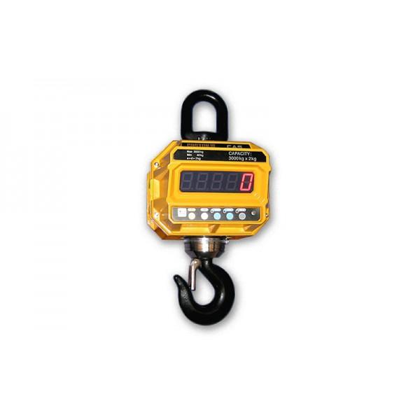 Весы крановые CAS Caston III 50 THD BT до 50 т, дискретность 20 кг