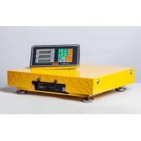 Товарные электронные напольные весы Планета весов ПВП-600-Wi-Fi, 50х60 (до 600кг, точность 200г)