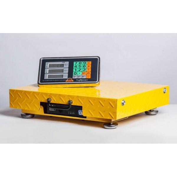 Напольные товарные электронные весы Планета весов ПВП-300-Wi-Fi, 40х50 (до 300кг, точность 50г)