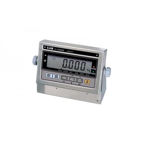Весовой индикатор CAS CI-2400BS; (186х58х85 мм)