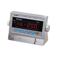 Весовой индикатор со светодиодным дисплеем CAS NT-200S с корпусом из нержавеющей стали