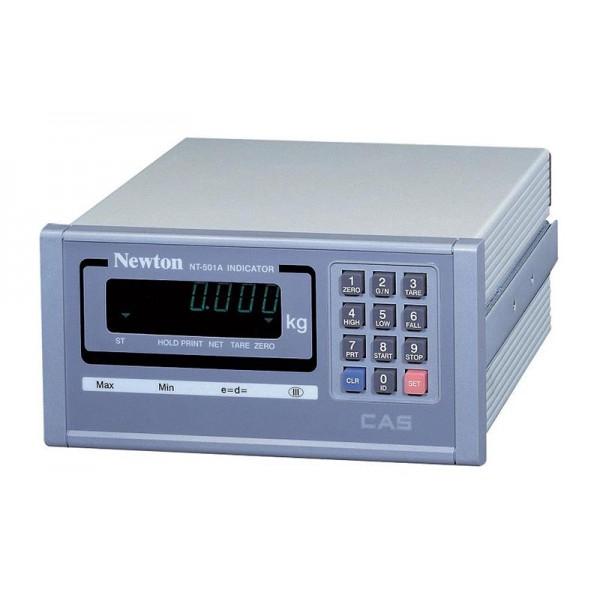Весовой индикатор CAS NT-501A с вакуумно-люминесцентный дисплеем