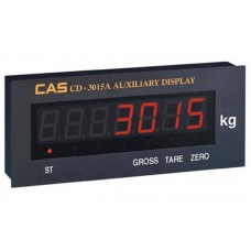 Дополнительный выносной индикатор CAS CD-3015A питание через адаптер; (330х135х56 мм)