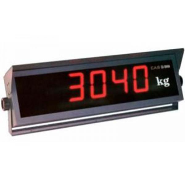 Недорогой дополнительный весовой индикатор CAS CD-3400; (600х180х200 мм)