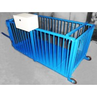 Весы для взвешивания свиней и поросят ВИС 300/500 ВП4-С до 500 кг, 600х1250х700 мм