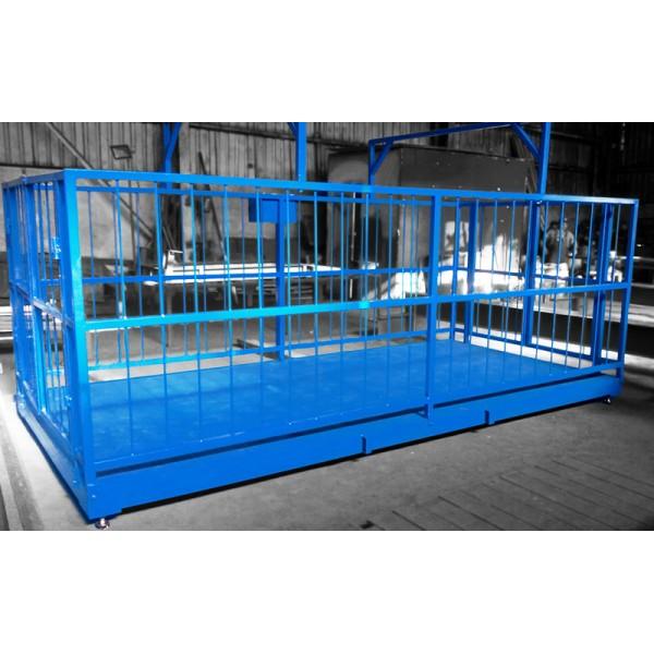 Весы для взвешивания крупного рогатого скота ВИС 4ВП4-С до 4000 кг, 2000х4000х1500 мм