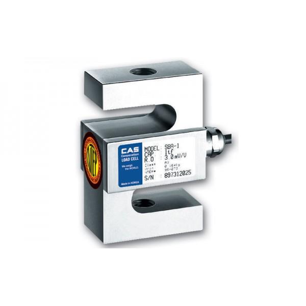 Никелированный S-образный датчик CAS SBA 1 т-5 т (D3/С3); класс защиты IP65