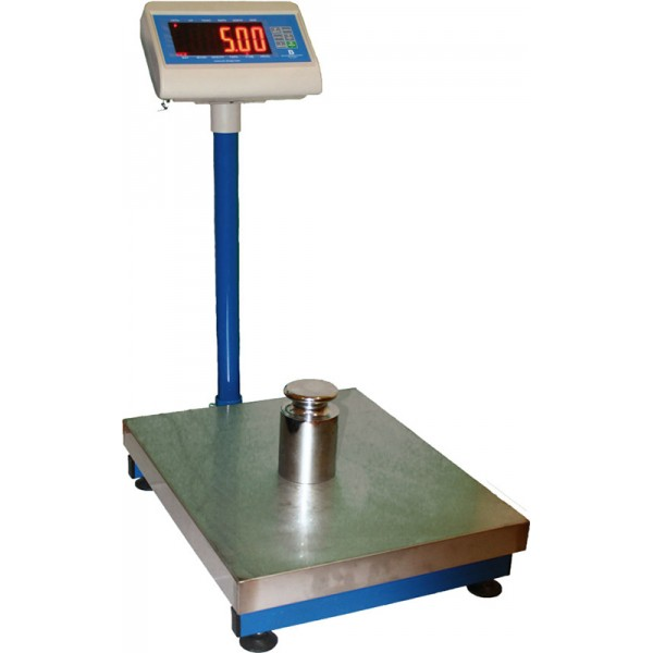 Весы товарные ВИС 60ВП1 до 60 кг, 400х500 мм, бюджет