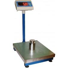 Весы товарные ВИС 300ВП1 до 300 кг, 600х800 мм, бюджет