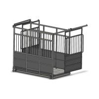 Весы для взвешивания скота с раздвижными дверьми 4BDU-1500X-Р, НПВ: 1500кг, 1250х2000х1600мм ПРЕМИУМ