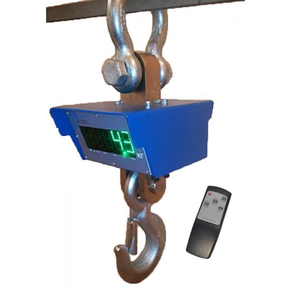 Весы крановые ВИС 10ВК-РКМ до 10000 кг с радиоканалом