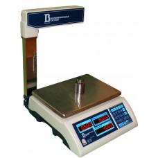 Торговые весы для магазина ВИС 15ВП-1-С (до 15 кг, со стойкой)