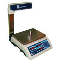 Электронные торговые весы ВИС 30ВП-1-С (до 30 кг, со стойкой)